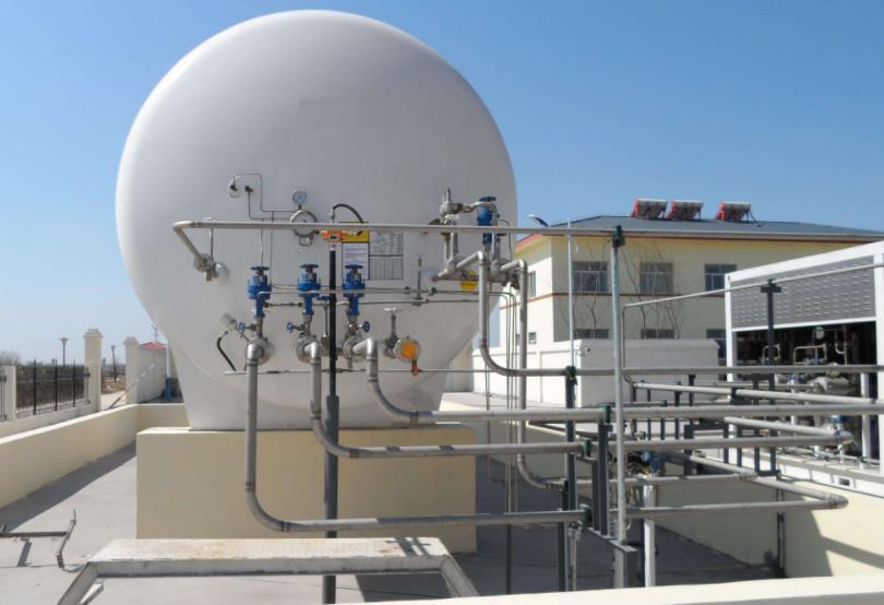 广西LNG储气罐